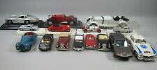 Lot of 15 Diecast Mercedes Benz Collector Cars Various Scales - Corgi, Burago++