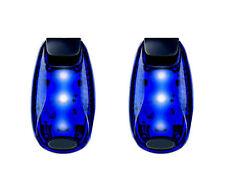 LED Safety Lights Refective Gear Night Running Cycling Jogging Bike Tail(2Pcs)