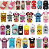 3D Cute Cartoons Silicone Shockproof Back Shell Phone Case For Samsung Phones
