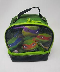 Marvel Ninja Turtles Insulated Two Section Lunch Pack/ Bag/Box (1167)