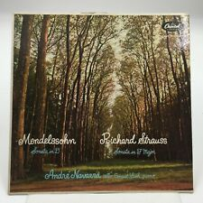CAPITOL P18045  Mendelssohn & Strauss  Cello Sonatas  ANDRE NAVARRA