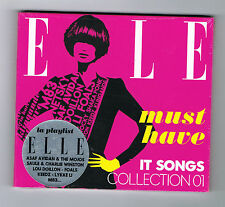 ♪ - ELLE - MUST HAVE IT SONGS COLLECTION 01 - CD 13 TITRES - 2013 - NEUF NEW - ♪
