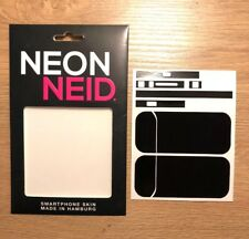 IQOS Device Designfolie Schutzfolie Klebe Folie - schwarz NeonNeid Skin Black