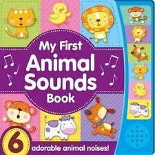 Noisy Baby - My First Animal Sounds Book Babies Ages 0 - 12 months Hardback New
