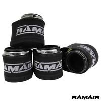 RAMAIR Performance Mousse Moto 4x 55mm Universel Pod Air Filtre Kit Ovale Corps