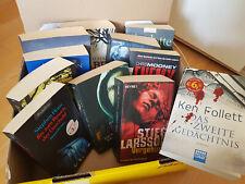 Buchpaket Romane Krimi Thriller 11 Stk. Taschenbücher