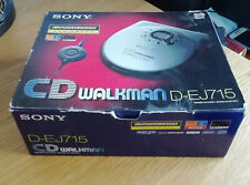 Sony CD Walkman D-EJ715 - Exceptional Boxed Condition