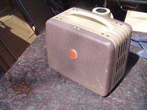 Kodak Brownie 8mm Movie Projector Tested