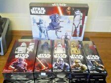 Collection of Star Wars 12 Inch Figures Kylo Ren, Storm Trooper, Force Awakens