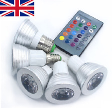 4/2 x GU10/E27 5W 16 Color RGB Dimmable LED Spot Light with Remote Control