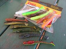 "14x(a Mix of colors) Lucky John TIOGA 2.9"" Eatable strong MACKEREL scent"