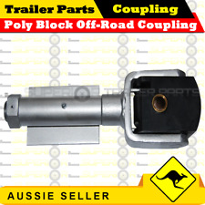 Superior Poly Block Off-Road Coupling - Weld On Type -  3000kg Rating - Trailers