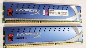 Kingston Hyper X Fury 8GB KHX1600C9D3K2 2X 4GB DDR3 PC3 12800 1600MH Memory Ram