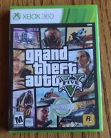 Grand Theft Auto V 5 ( Microsoft Xbox 360, 2013) NEW Sealed