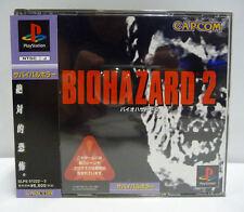 BIOHAZARD 2 - RESIDENT EVIL - SONY HORROR  PS1 NTSC JAPAN