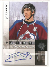 Joe Sakic 2011-12 Upper Deck Ultimate Signatures SP Autograph Auto