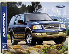 2004 Ford Expedition SUV new vehicle brochure