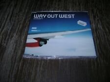 Way Out West Intensify Cd DISTINCT'IVE BREAKS 2001 UK Import New!!