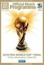 * 2010 FIFA WORLD CUP FINAL PROGRAMME HOLLAND v SPAIN *
