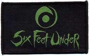 Six Feet Under Logo   Patch/Aufnäher 602665 #