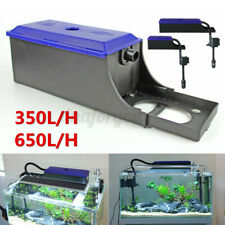 Aquarium External Water Filter Trickle Upper Box Fish Tank System Pumps Plastic!