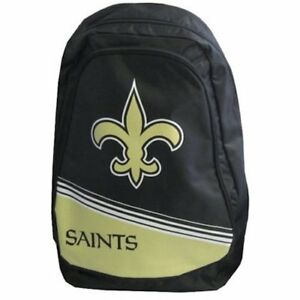 New Orleans Saints Official NFL 20 inch x 12 inch x 4 inch Backpack by Forever C