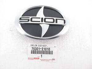 Genuine OEM Scion 75301-21010 Front Radiator Grill Emblem Badge Logo 2011-13 tC