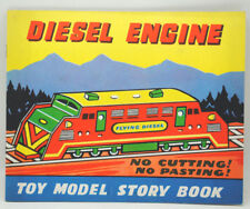 VINTAGE DIESEL ENGINE MODEL STORY BOOK - NO CUTTING, NO PASTING cc 1960-70's.