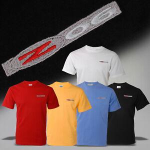 2001-2004 C5 Z06 Crew Neck T-Shirt w/ Z06 Embroidered Emblem 605459