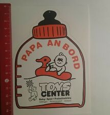 ADESIVI/Sticker: Toys Center papà a bordo (091116113)