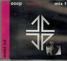 CD Maxi  CCCP ‎– Liquid Sky (Mix 1) ,Sehr gut Top, Dino Music ‎– D 006 Germany