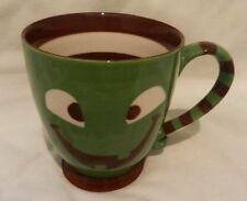 Starbucks 2007 Halloween Pumpkin Jack-o-Lantern Green Monster Mug