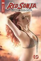 RED SONJA BIRTH OF SHE DEVIL #4 DYNAMITE  COVER C COSPLAY 1ST PRINT
