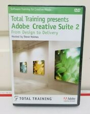 NEW Total Training Adobe Creative Suite 2 From Design to Delivery NIB