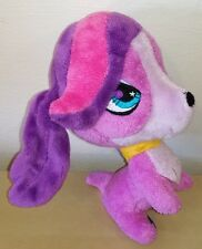 Peluche Littlest Pet Shop 18 cm Principessa Zoe pupazzo originale cane dog plush