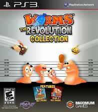 *NEW* Worms The Revolution Collection - PS3