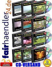 12 Audio-CDs: Natürgeräusche Vol. 1-12 Natürliche Geräusche Natural Sounds Paket