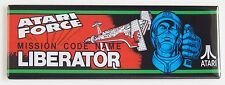 Atari Force Marquee FRIDGE MAGNET (1.5 x 4.5 inches) arcade video game header