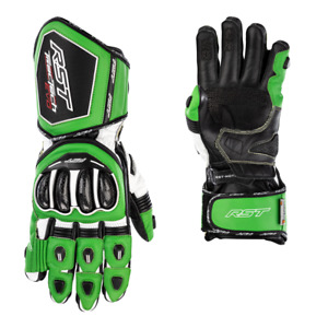 RST Tractech Evo 4 CE Approved Cowhide/Kangaroo Leather Motorcycle Sports Gloves