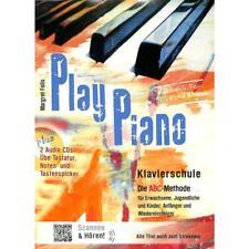 "Play Piano - Klavierschule mit 2 CDs + 1 Bleistift ""Musikmotiv"""