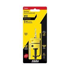 ALPHA 10g (5mm) HSS Adjustable Decking Drill & Countersink Tool Timber - Deck