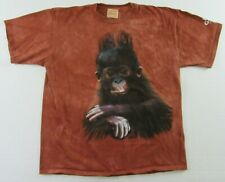 Busch Gardens Tampa Bay Florida Baby Monkey Gorilla Tie Dye T Shirt Size Xl