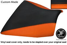 ORANGE BLACK VINYL CUSTOM FOR KAWASAKI Z750 Z 750 Z 1000 Z1000 04-06 SEAT COVER