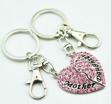 Love & Hearts Metal Keyrings for Women