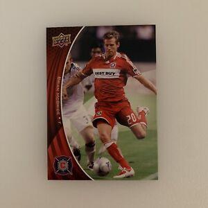 2010 Upper Deck Brian McBride # 8 Chicago Fire MLS Soccer Football Card USMNT