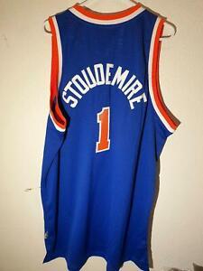 Adidas Swingman New York Knicks Hardwood Classics Stoudemire Jersey Blue XL