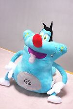 New Oggy and the Cockroach Silly Blue Cat Soft Plush Toy Stuffed Doll Big Size