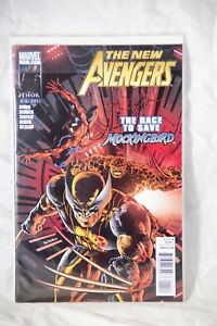 The New Avengers Marvel Comic Issue #11 The Race to save Mockingbird