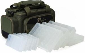 Croch Fishing Tackle Bags with 8 Trays Waterproof Tackle Bag Storage