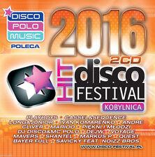 Disco Hit Festival - Kobylnica 2016 (CD 2 disc) disco polo NEW